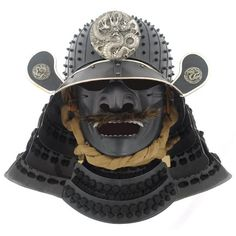 Samurai helmet Very nice! Much like the one Blofeld wore in the You Only Live Twice novel.