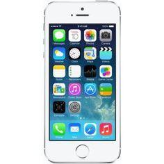 """Смартфон Apple iPhone 5S 16Gb серебристый (ME433RU/A)  — 20427 руб. —  смартфон на платформе iOS сенсорный экран мультитач (емкостный) диагональ экрана 4"""", разрешение 640x1136 камера 8 МП, светодиодная вспышка, автофокус память 16 Гб, без слота для карт памяти поддержка Bluetooth, Wi-Fi, 3G, LTE, GPS, ГЛОНАСС вес 112 г, ШxВxТ 58.60x123.80x7.60 мм, акк. 1560  ..."""