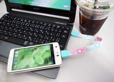 USBケーブル「Mohzy Loop」の種類は33種類!きっとお気に入りのデザインが見つかります♪http://andronavi.com/2013/05/270149