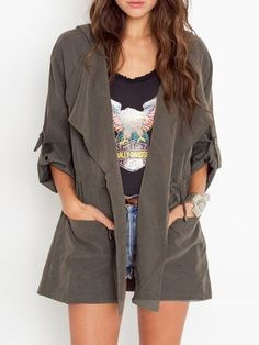 c345251df48a1 Shift Pockets Hoodie Plain Casual Cotton Coat Plain Hoodies