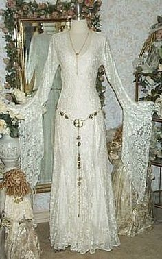 Celebrating your irish wedding at for Celtic pagan wedding dresses