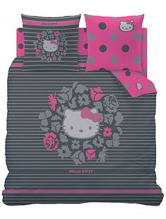 Rosa by Hello Kitty Sanrio Hello Kitty, Hello Kitty Lit, Hello Kitty Bedroom, Here Kitty Kitty, Hello Hello, Hello Kiti, Hello Kitty Collection, Kawaii, Childrens Beds