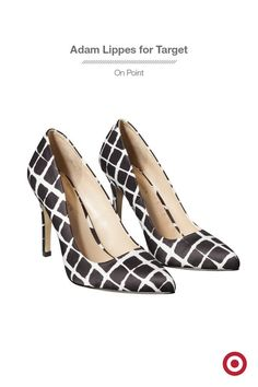 Fall is the season of plaid and if you're ready to hop on that bandwagon, try this chic pair of Adam Lippes for Target heels. The modern windowpane print is takes classic plaid on a more sophisticated path, and the pointed toe is totally on trend. Wear them with a dress or use them to dress up your favorite jeans. The entire collection is available now!