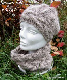 Rowan hat and cowl Lunamon Design
