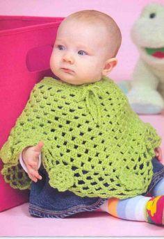 Yeşil çocuklarınız için baharlık panço