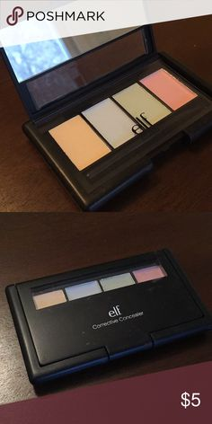 e.l.f. Corrective Concealer Palette Eyes Lips Face corrective concealer palette ELF Makeup Concealer