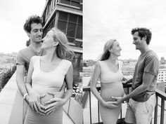 black and white pictures, maternity photo session, manhattan outdoors #maternity #belly #bumpenvy