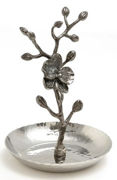 Michael Aram 'Black Orchid' Ring Catch available at #Nordstrom