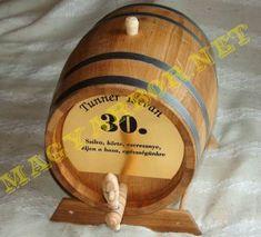 Tölgyfa Hordó Pálinkának, Bornak, Whiskynek vagy másnak Whisky, Craft, Whiskey
