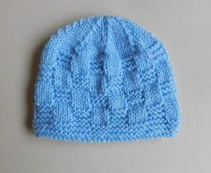 Willow Baby Hat | A beautiful basket weave baby hat you won't be able to resist.