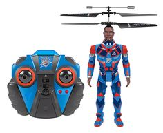 NBA Licensed Oklahoma City Thunder Kevin Durant Robojam 3.5CH IR RC Helicopter - $39.95