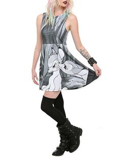 For Hot Topic, this is really cute. Provided it is accessorized the right way.  Disney Bambi Dress | Hot Topic