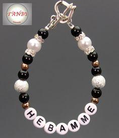 #Hebamme, #Armband, #Dankeschön - Geschenk