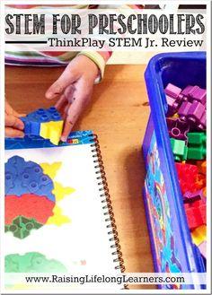Stem For Preschoolers Thinkplay Jr Review Creative Activities Kids Educational
