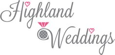 Highland wedding logo Scotland