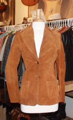 Vintage Lee Suede Jacket, Ladies' size S, available at our eBay store! $45