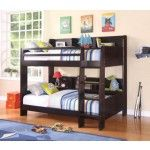Acme Furniture - Barclay Wood Twin Over Twin Bunk Bed in Espresso - 37220