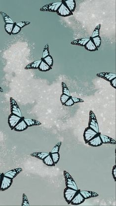 Butterfly Wallpaper Iphone, Iphone Wallpaper Vsco, Homescreen Wallpaper, Iphone Background Wallpaper, Iphone Wallpaper Glitter, Cute Patterns Wallpaper, Aesthetic Pastel Wallpaper, Aesthetic Backgrounds, Aesthetic Wallpapers
