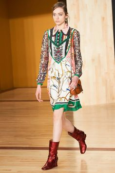 Coach 1941 Fall 2016 Ready-to-Wear Fashion Show - Odette Pavlova
