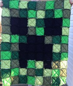 **PLEASE NOTE** I am changing the materials for the batting of this blanket. The blanket will have flannel used on the inside instead of quilt batting. You can still choose to have quilt batting from the dropdown menu. When using the quilt batting, the quilt is thicker.This listing is for the blanket only. Please use custom order button to request pillow shams or other sizes. This quilt is made to order. Estimated production time for made-to-order items is 3-4 weeks, but possibly sooner. I…