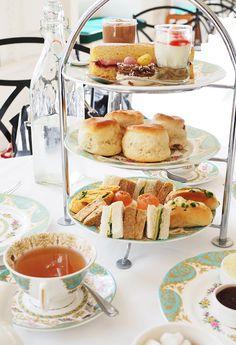 Afternoon tea at the Orangery Kensington Palace, London