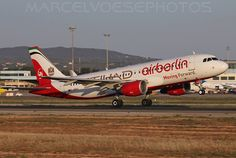 D-ABDU - Airbus A320 @ PMI, Palma de Mallorca Airport, showing the AB / EY moving forward hybrid c/s