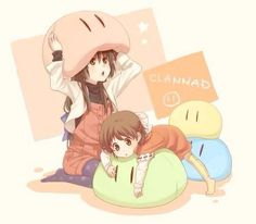 Ushio and Fuko - Clannad After Story