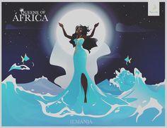 E seguindo o projeto #queensofafrica  é a vez de #iemanjá  See more arts on: http://ift.tt/1NPIGUO  #design #draw #desenho #art #agua #arte #water #sea #mother #mãe #sereia #mermaid #disney #diet #comic #cartoon #umbanda #candomblé #ijexÁ #ketu #angola #religion #religiao #orixa #orixás by marcelotmoreno