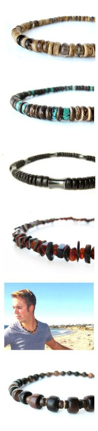 Men's jewelry by Jenny Hoople of Authentic Arts