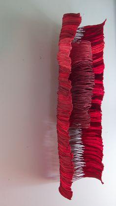 sculptural paper, Jocelyn Chateauvert
