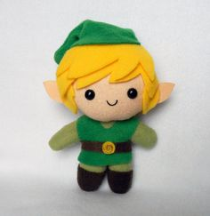 ♥ This listing is for one Link Plush by Deadly Sweet ♥ MADE TO ORDER: Allow up to a week to process your order.    MADE FROM: Fleece, craft