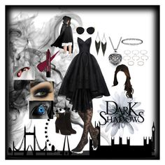 """""""Vampire ~description~"""" by samantha-2899 ❤ liked on Polyvore featuring Express, Zac Posen, Salvatore Ferragamo, Una-Home, GUESS and Forever 21"""