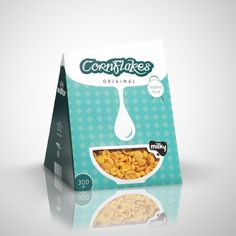 Cornflakes packaging