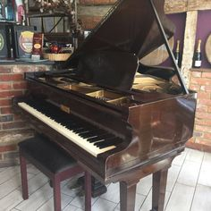 1920's Chappell Baby Grand restored by Chiltern Pianos in Bovingdon.