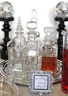 vintage liqueur decanters