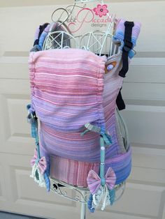 Heart-String Handwoven Cape Cod (Customized by PETIT PICCADILLY) Tula Baby Carrier