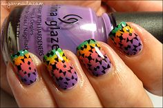 Sweet Sugar: MSMD: Rainbow Kaleidoscope #nails