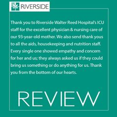 Read what our patients have to say about our staff!