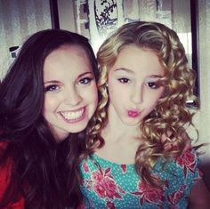 Peyton Ackerman and Chloe Lukasiak
