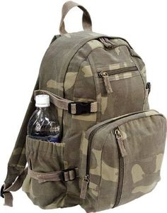 Pin it! :)  Follow us :))  zCamping.com is your Camping Product Gallery ;) CLICK IMAGE TWICE for Pricing and Info :) SEE A LARGER SELECTION of Camping Daypack Backpacks at http://zcamping.com/category/camping-categories/camping-backpacks/daypack-backpacks/ - camping, backpacks, daypacks camping gear, camp supplies - Woodland Camouflage Military Vintage Washed Compact Mini Backpack « zCamping.com