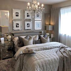 Best 27 Room Decor Bedroom Design Ideas For Your Inspiration Master Bedroom Design, Dream Bedroom, Home Decor Bedroom, Modern Bedroom, Lux Bedroom, Fall Bedroom, Bedroom Interiors, Bedroom Signs, Trendy Bedroom