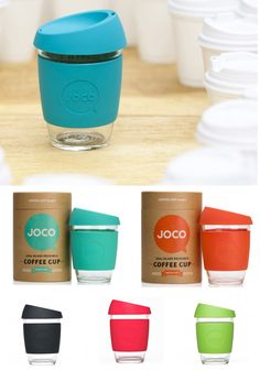 Meet Joco. The reusable glass coffee cup from Australia that cares about everything from your taste buds to mother nature.