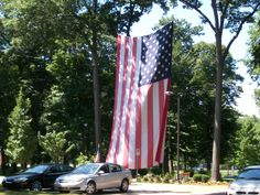 Flag at Grand Rapids Home for Veterans