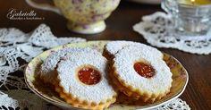 Gabriella kalandjai a konyhában :): A legomlósabb linzer Grubs, Christmas Baking, Cakepops, Fun Desserts, No Bake Cake, Baking Recipes, Cheesecake, Muffin, Food And Drink