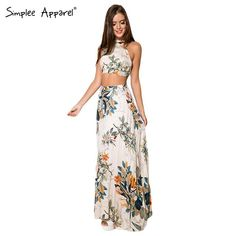 Cheap dress trend, Buy Quality dress shine directly from China dress modern Suppliers:         2015 New Arrival Women elegant maxi dress Two piece backless halter cross maxi dress Flower print boho style ves