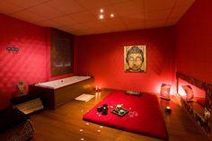 cabina de masajes Samadhi. Centro de masajes eróticos Samadhi