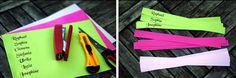 Da die Nachfrage kam, wie ich die herzförmigen Namenskärtchen bei der Hochzeitsdeko von meinen Freunden (siehe Post vom 1. November -...