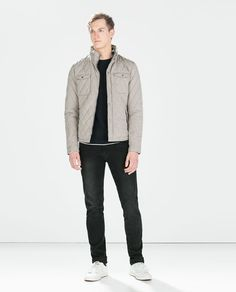 PADDED JACKET WITH BREAST POCKETS