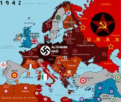 Nazi-Occupied Europe in 1942