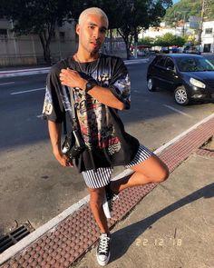 Moda Streetwear, Streetwear Fashion, Streetwear Summer, Streetwear Brands, Moda Converse, Estilo Hip Hop, Moda Retro, Mens Clothing Styles, Men's Clothing